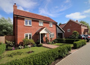Thumbnail 3 bed detached house for sale in Church Farm Place, Whatfield, Ipswich