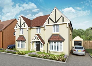 """Thumbnail 4 bed detached house for sale in """"The Highclere"""" at Grange Road, Chalfont St. Peter, Gerrards Cross"""