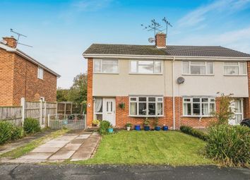 Thumbnail 3 bed semi-detached house for sale in Hunters Drive, Tarvin, Chester