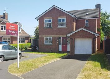 Thumbnail 4 bed detached house for sale in Peterborough Close, Grantham
