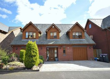 Thumbnail 4 bed detached house for sale in Hill Close, Tranch, Pontypool