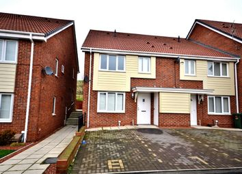 Thumbnail 2 bedroom semi-detached house to rent in Swan Court, Hylton Castle, Sunderland, Tyne And Wear