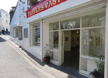 Thumbnail Retail premises for sale in Ground Floor, 22 Fore Street, St Ives, Cornwall