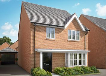 "Thumbnail 4 bed detached house for sale in ""The Maple"" at Hyde End Road, Shinfield, Reading"