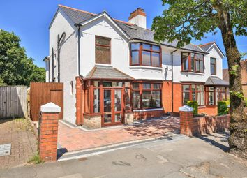 Thumbnail 6 bed semi-detached house for sale in Lake Road North, Roath Park, Cardiff