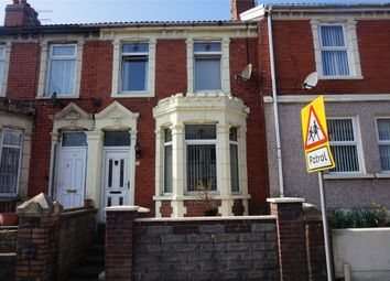 Thumbnail 3 bed terraced house for sale in Gwerthonor Place, Gilfach, Bargoed, Caerphilly