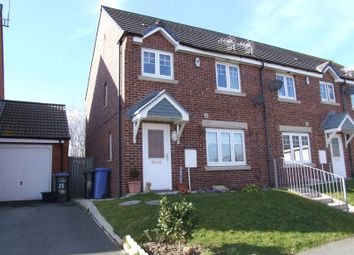 Thumbnail 3 bed end terrace house to rent in Beadnell Drive, East Shore Village, Seaham