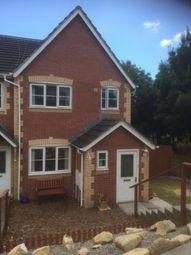 Thumbnail 3 bed semi-detached house to rent in Llwyn Coch, Broadlands, Bridgend