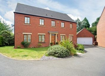 Thumbnail 5 bed detached house for sale in Sandy Hill Rise, Shirley, West Midlands