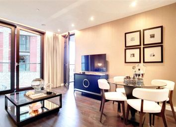 Thumbnail 2 bed flat for sale in Madeira Tower, The Residence, Ponton Road, London
