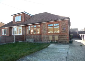 Thumbnail 3 bed semi-detached bungalow for sale in Second Avenue, Farlington, Portsmouth