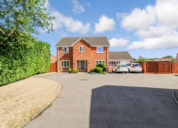 Thumbnail 4 bed detached house for sale in Nelson Close, Crowland, Peterborough