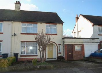 Thumbnail 3 bedroom semi-detached house for sale in Debdale Road, The Headlands, Northampton