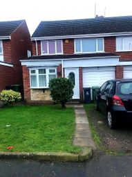 Thumbnail 3 bed semi-detached house to rent in Baynton Road, New Invention, Walsall