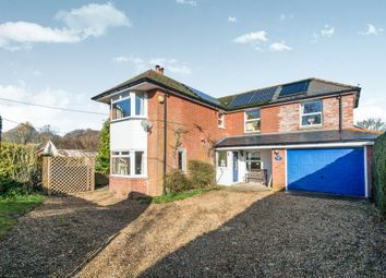 Thumbnail 3 bed detached house for sale in Cholderton Road, Grateley, Andover