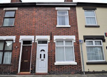 Thumbnail 2 bed terraced house for sale in Nicholls Street, Stoke