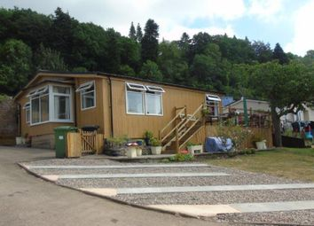 Thumbnail 2 bed mobile/park home for sale in 2 Wyeside Park, Bishopswood, Near Lower Lydbrook, Herefordshire