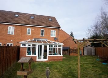Thumbnail 4 bed semi-detached house for sale in Martin Close, Watlington, Kings Lynn