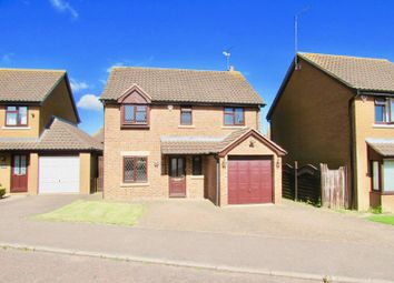 Thumbnail 4 bed detached house to rent in Vincent Close, Duston, Northampton