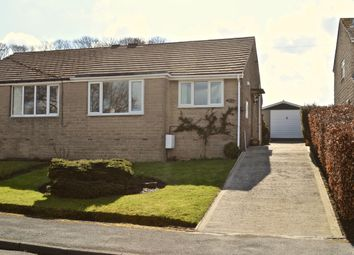 Thumbnail 2 bed semi-detached bungalow for sale in Holmdale Crescent, Netherthong, Holmfirth
