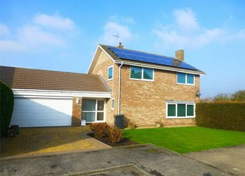 Thumbnail 4 bed detached house for sale in Harcourt Close, Wheldrake, York