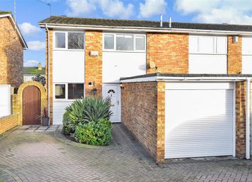 Thumbnail 3 bed semi-detached house for sale in Culpepper Road, Parkwood, Gillingham, Kent