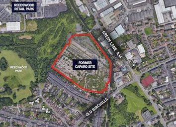 Thumbnail Commercial property for sale in Former Caparo Site, Old Birchills Road, Walsall, West Midlands