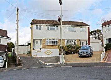 Thumbnail 3 bed semi-detached house for sale in Heol Dyhewydd, Llantwit Fardre, Pontypridd
