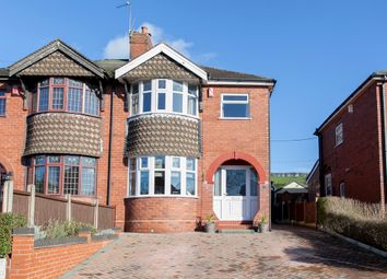 Thumbnail 3 bed semi-detached house for sale in Birchgate Grove, Bucknall, Stoke-On-Trent