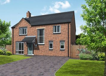 Thumbnail 4 bed detached house for sale in Plot 10 Ashby, Coton Road, Rosliston, Swadlincote
