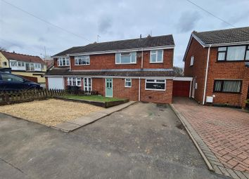 Nuthurst Crescent, Ansley, Nuneaton CV10. 4 bed semi-detached house for sale