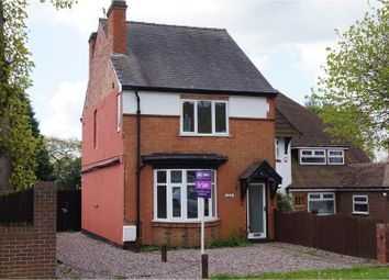 Thumbnail 3 bed detached house for sale in Birchfield Road, Redditch