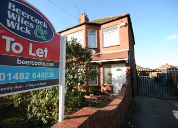 Thumbnail 3 bed detached house to rent in Briarfield Road, Hull, East Riding Yorkshire