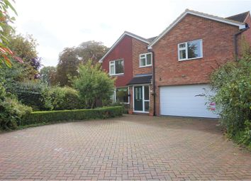 Thumbnail 5 bed detached house for sale in Harkness Close, Bletchley