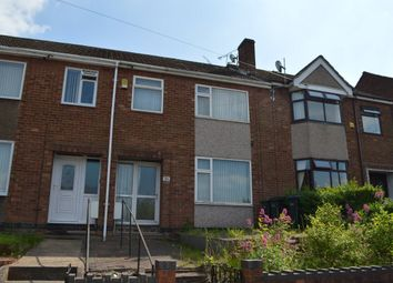 Thumbnail 3 bed terraced house to rent in Rotherham Road, Holbrooks, Coventry