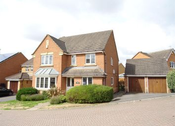 Thumbnail 4 bed detached house for sale in Francis Way, Ellistown, Leicestershire