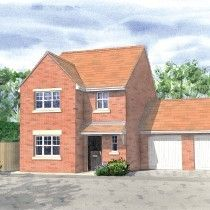 Thumbnail 4 bedroom detached house for sale in Oakham Road, Greetham, Rutland