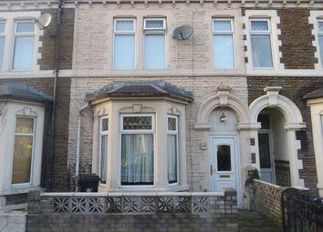 Thumbnail 3 bed terraced house for sale in Habershon Street, Splott, Cardiff