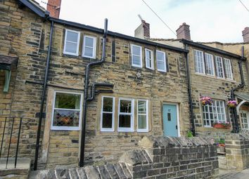 Thumbnail 3 bed cottage for sale in St Helens Gate, Almondbury, Huddersfield