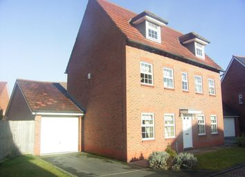 Thumbnail 5 bed detached house to rent in Browning Drive, Winwick, Warrington