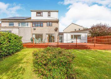 Thumbnail 3 bedroom semi-detached house for sale in Heol Cawrdaf, Beddau, Pontypridd