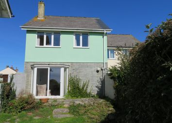Thumbnail 3 bed semi-detached house for sale in Bosorne Close, St. Just, Cornwall