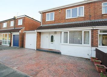 Thumbnail 3 bed semi-detached house for sale in Acomb Crescent, Redhouse Farm, Newcastle Upon Tyne