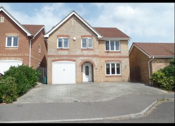 Thumbnail 4 bed detached house for sale in Jessica Crescent, Southampton