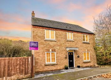 Thumbnail 4 bed detached house for sale in Owl Close, Witham St Hughs, Lincoln