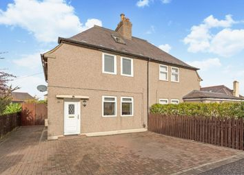 Thumbnail 3 bed semi-detached house for sale in 19 Boswall Square, Boswall, Edinburgh