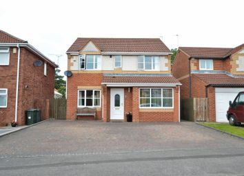 Thumbnail 4 bed detached house for sale in Robert Westall Way, North Shields