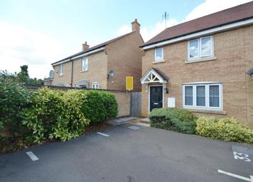 Thumbnail 3 bed end terrace house for sale in Bluebell Close, Wellingborough, Northamptonshire