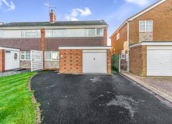Thumbnail 3 bedroom semi-detached house for sale in Lydford Road, Bloxwich, Walsall