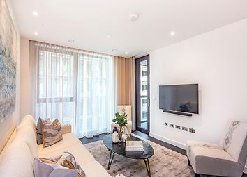 Thumbnail 2 bed flat to rent in Thornes House, Charles Clowes Walk, Nine Elms, London
